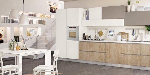 Cucine: tutto su una parete (o quasi) - Cose di Casa