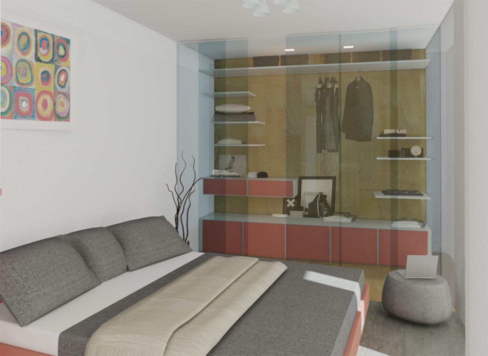 Come Arredare Una Camera Da Letto Stretta : Camera irregolare lunga e stretta come la arredo cose di casa