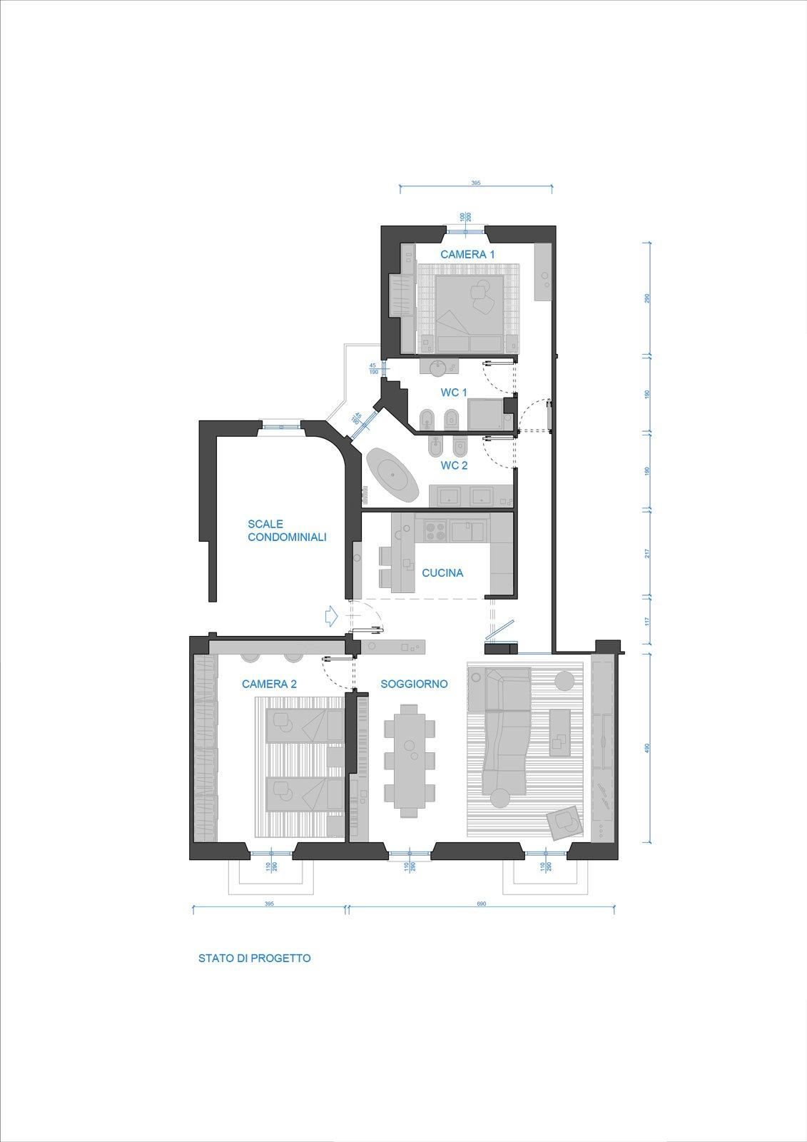 1131 x 1600 jpeg 291kB, Cose di Casa: arredamento casa, cucine, camere ...