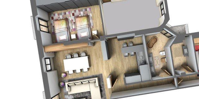 Spostare il secondo bagno un progetto in 3d cose di casa for Planner bagno 3d