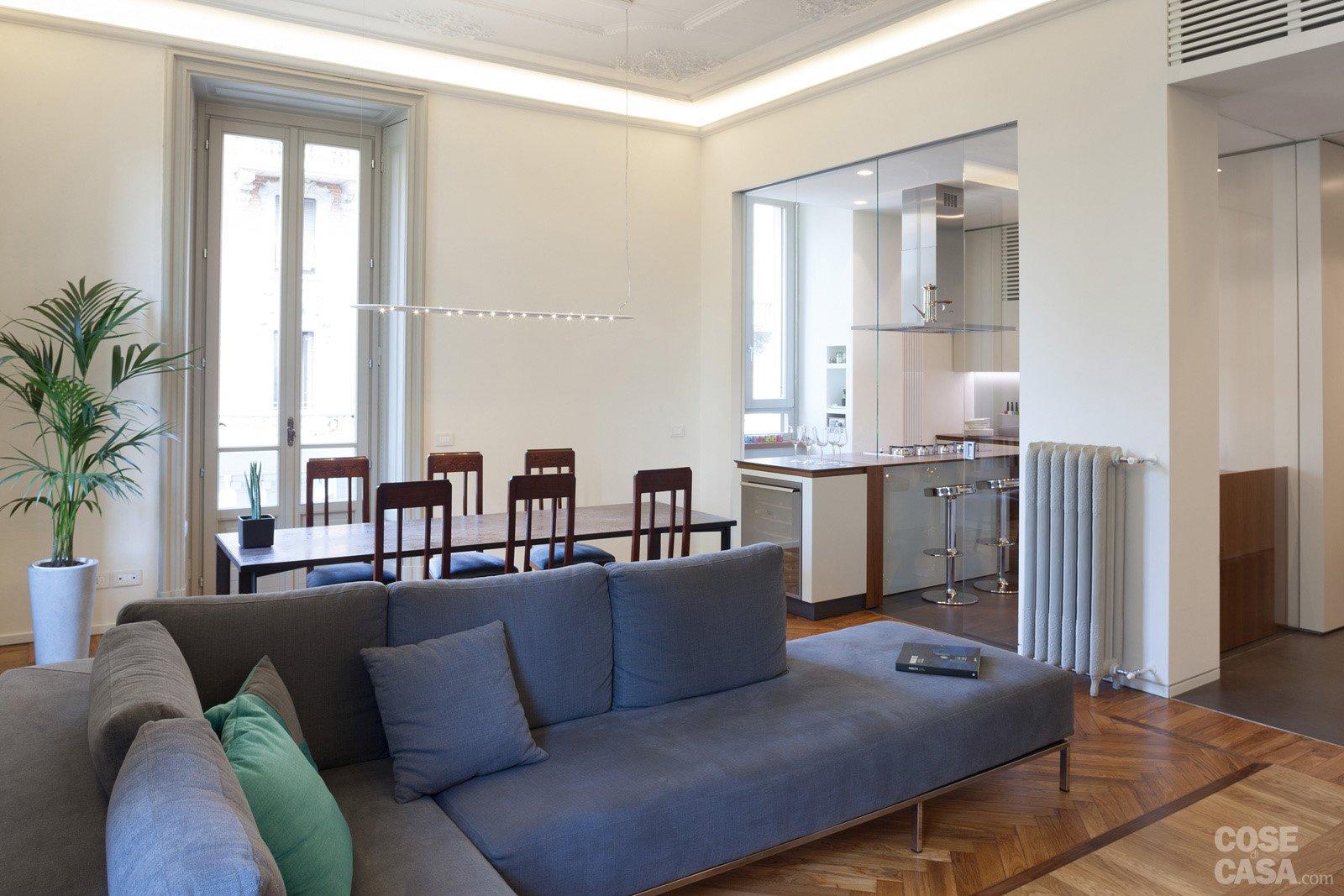 108 mq con nuove divisioni cose di casa for Creare mobili