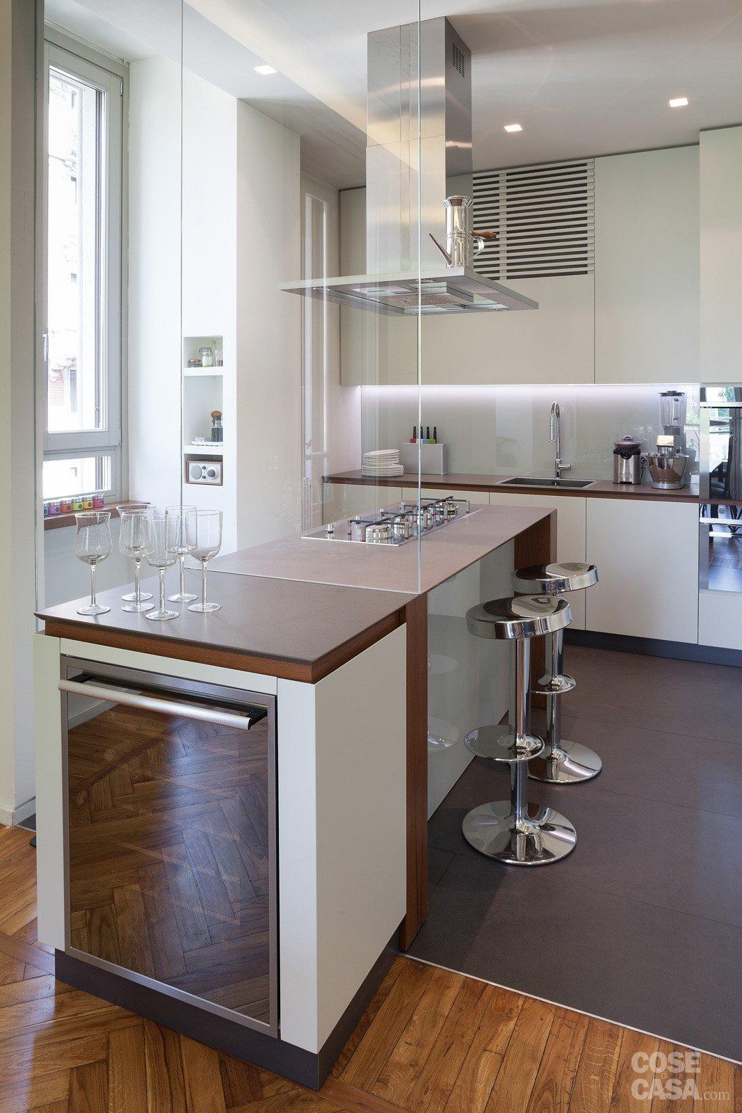 108 mq con nuove divisioni cose di casa for Piani di casa in metallo