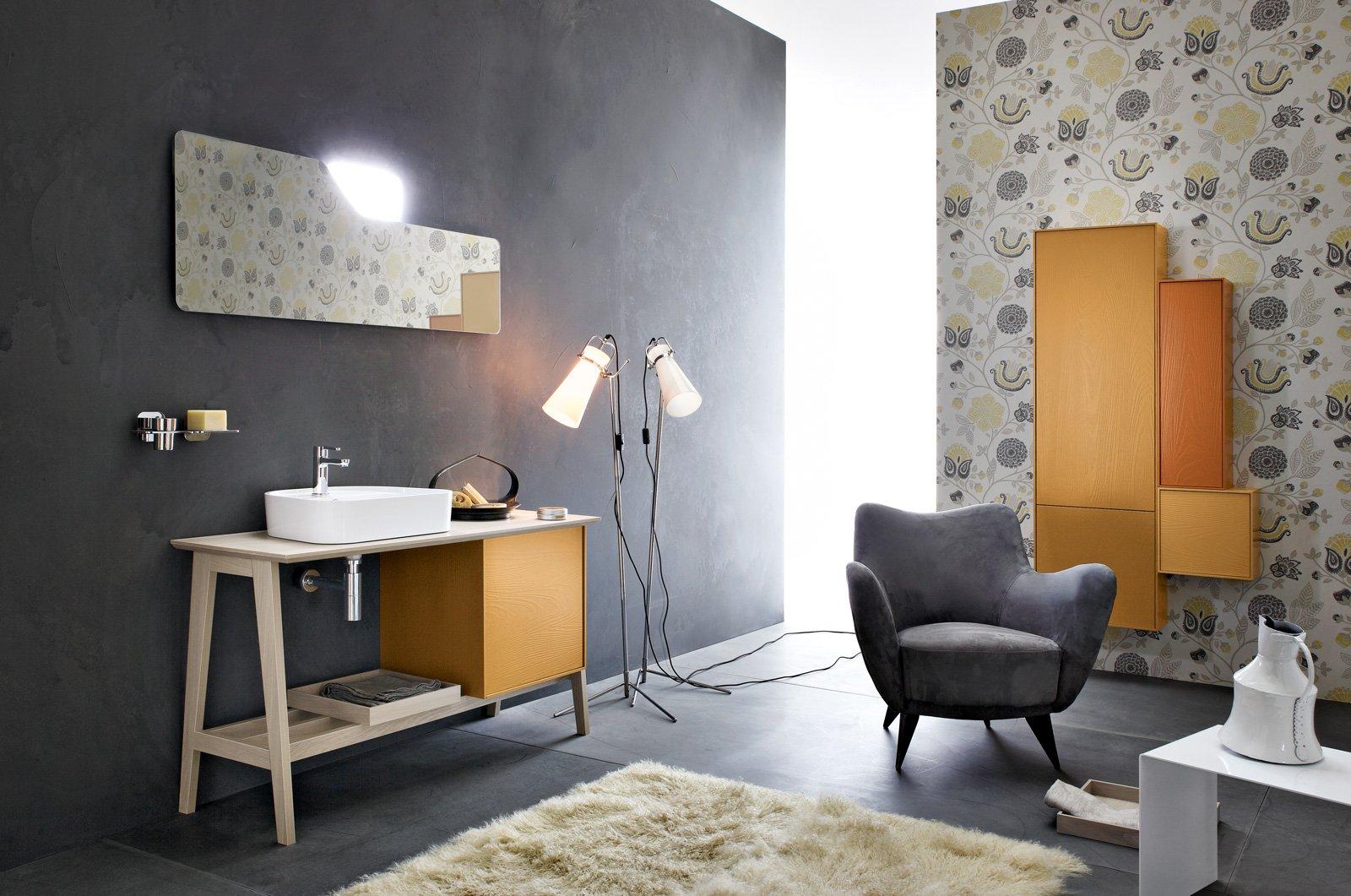 Cersaie 2015 i nuovi mobili per l 39 arredobagno cose di casa for Mobili bagno vintage