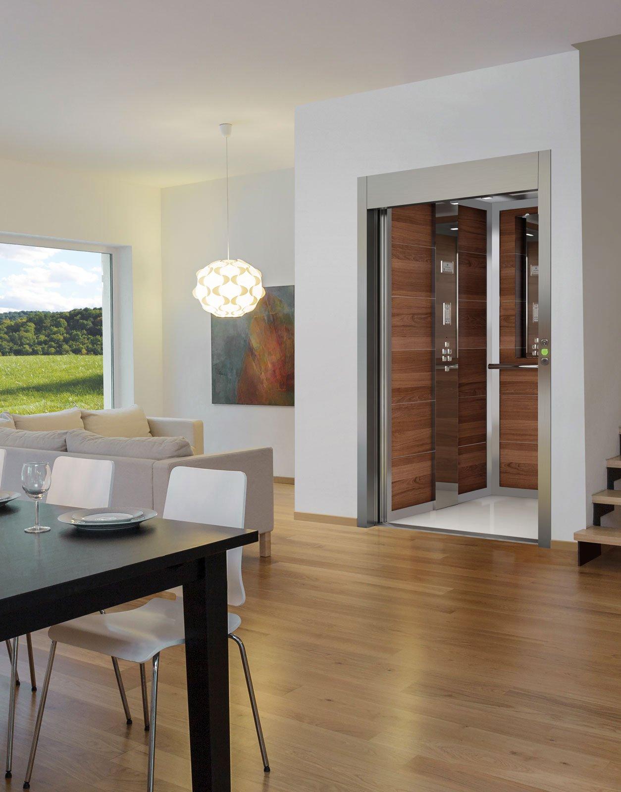 Mini ascensori e montascale in casa funzionali e di design cose di casa - Mini ascensori da interno ...