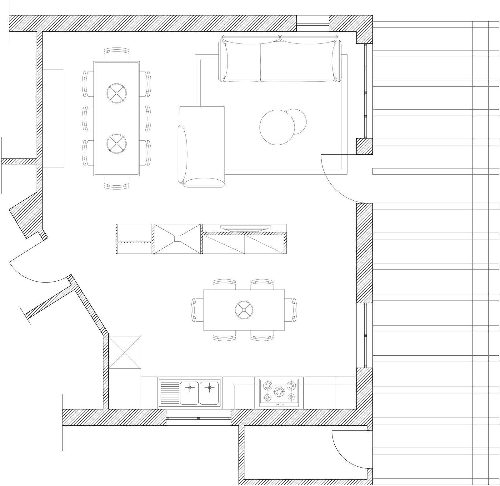 Disegnare cucina 3d simple un d prospettiva punto singolo for Progettare cucina 3d online gratis