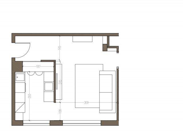 Arredamento cucine piccole un progetto per meno di 6 mq cose di casa - Cucine di piccole dimensioni ...