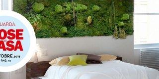 Arredare con le piante: una parete verde in casa