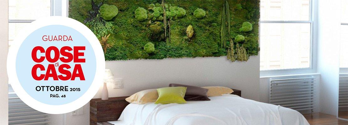 Arredare con le piante una parete verde in casa cose di - Piante aromatiche in casa ...