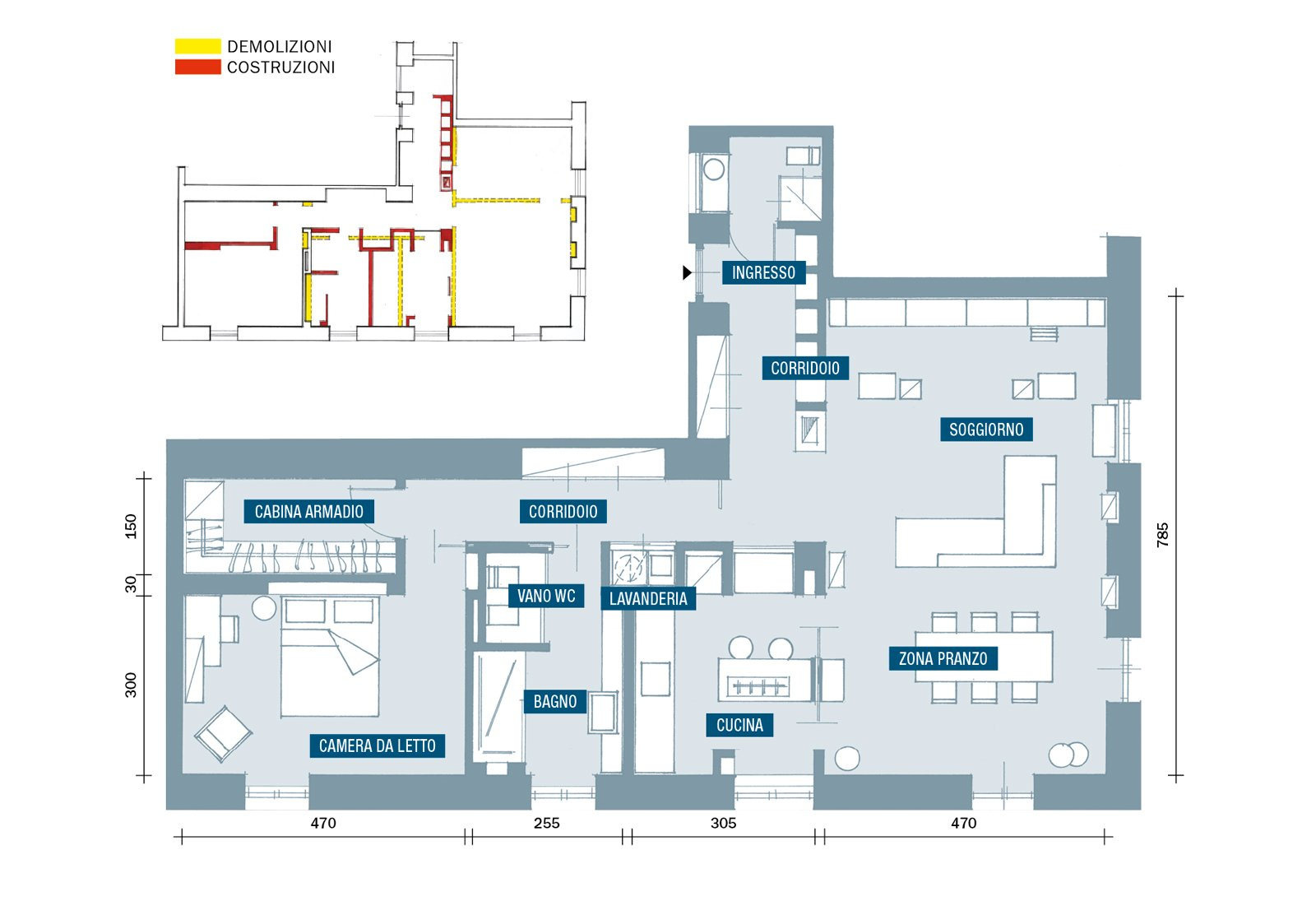 Planimetria cose di casa for Planimetrie ville moderne