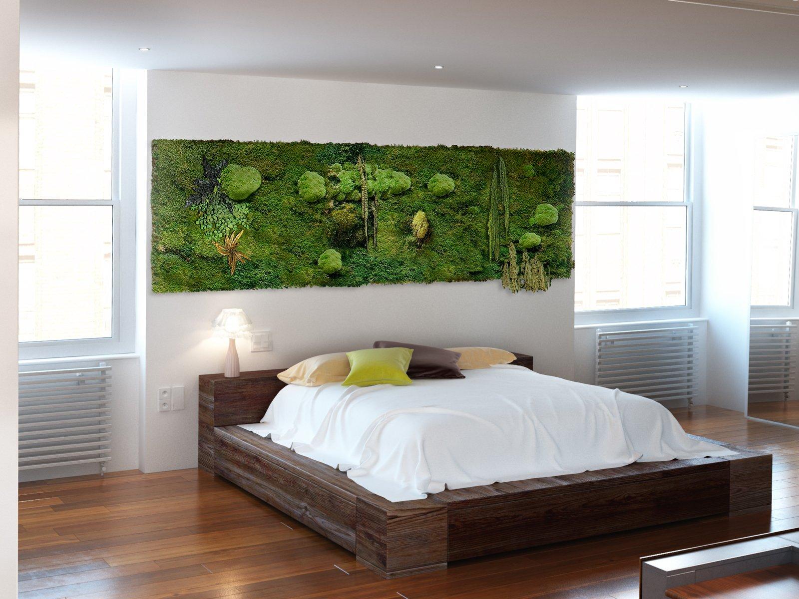 Arredare con le piante una parete verde in casa cose di for Arredare parete