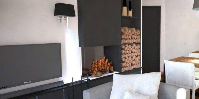 Come dividere cucina e soggiorno un progetto in 3d cose - Divisorio cucina soggiorno ...