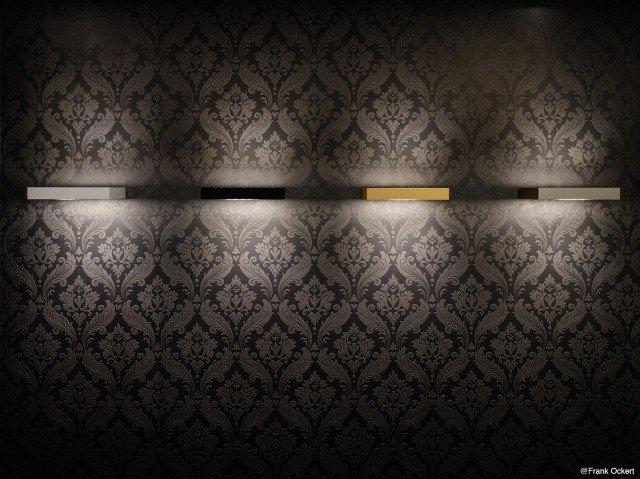 L'applique a doppio lato Air Maxx di Nimbus garantisce una gradevole luce d'ambiente, illuminando nel contempo pareti e soffitto. Il corpo, disponibile in diverse finiture (cromo placcato, argento opaco anodizzato, bianco lucido, cromo lucido, grigio titanio opaco anodizzato, oro opaco anodizzato, nero grafite), monta una fonte luminosa a led performante anche in termini di efficienza energetica. H 3,6 x L 13,5/25 x P 13,5 cm. www.nimbus-lighting.com