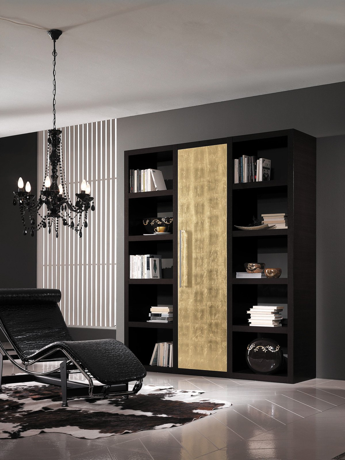 Parete attrezzata soggiorno stile classico sospesa for Parete attrezzata moderna sospesa