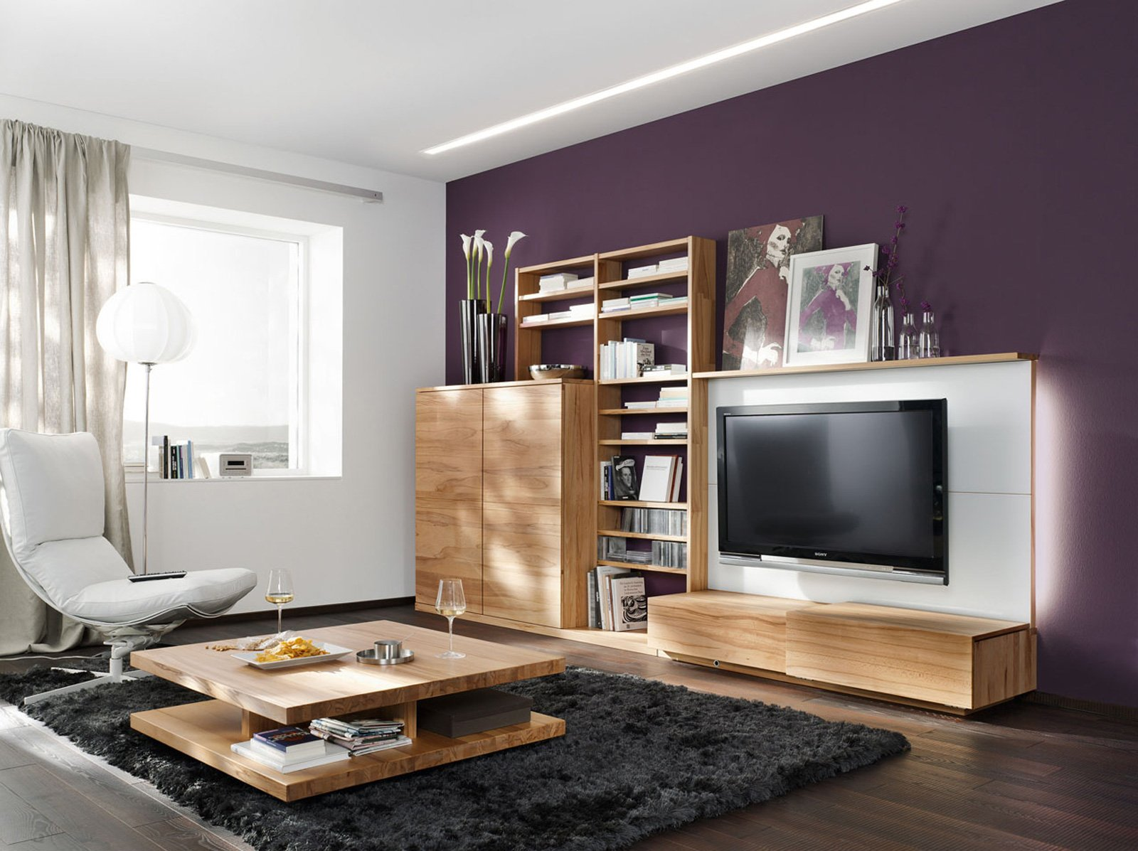 Librerie: pareti attrezzate multifunzione   cose di casa
