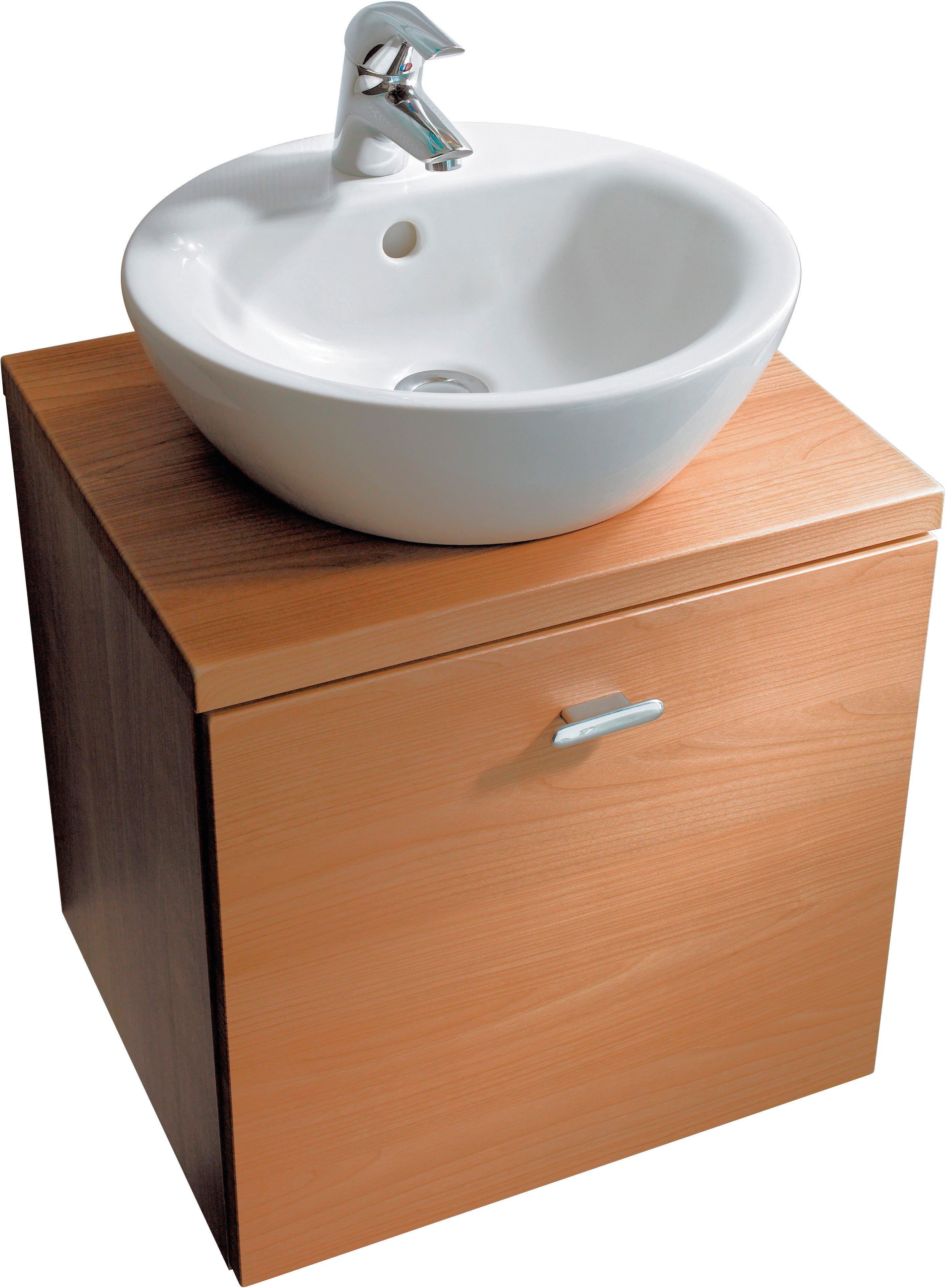 da appoggio il lavabo sphere della linea connect di ideal standard in ceramica bianca sanitaria