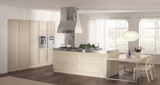 finitura crema per gli elementi di glamour di doimo cucine un modello dallo stile classico