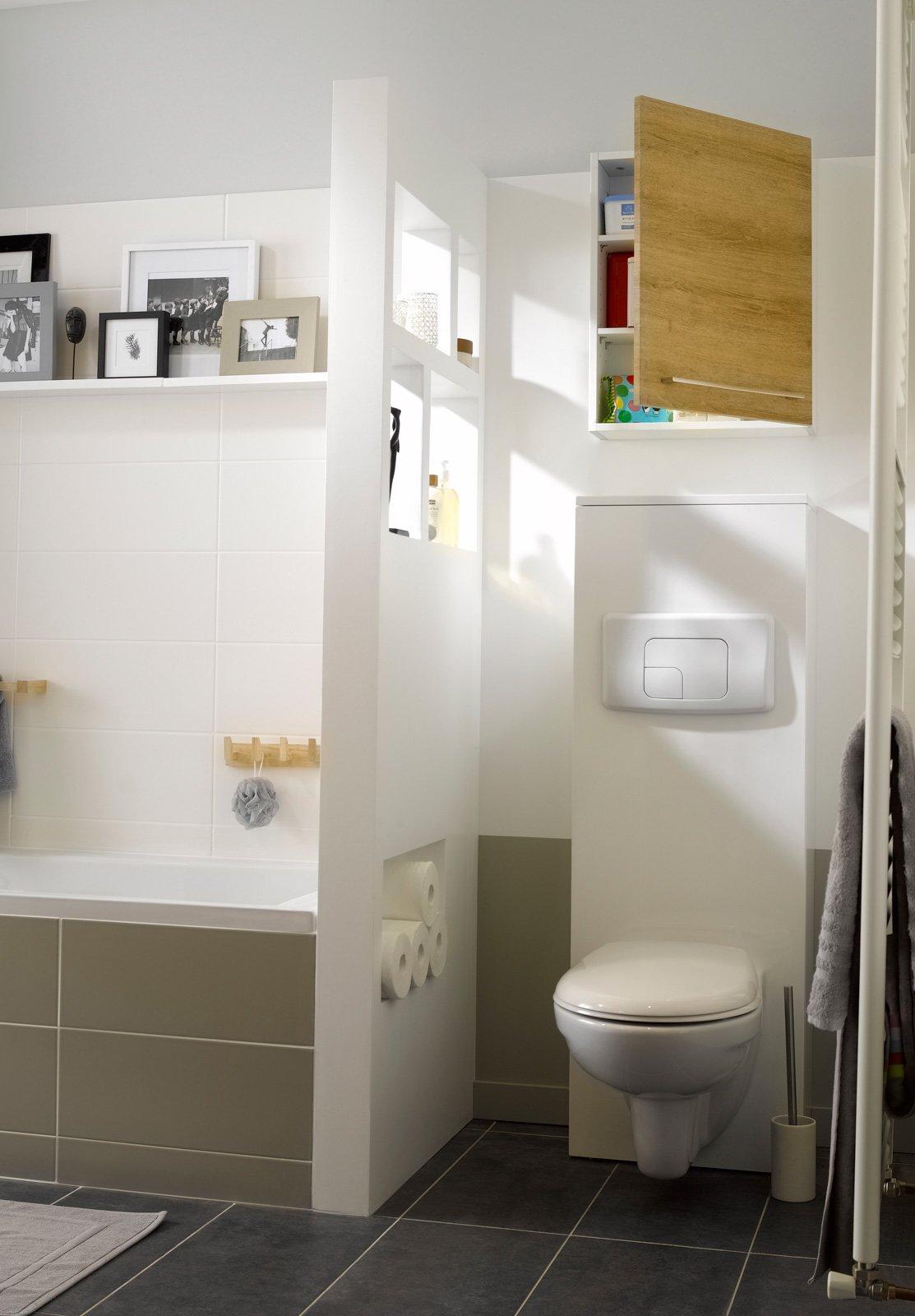 Sanitari sospesi estetica anche in formato ridotto cose di casa - Piastrelle sottili leroy merlin ...