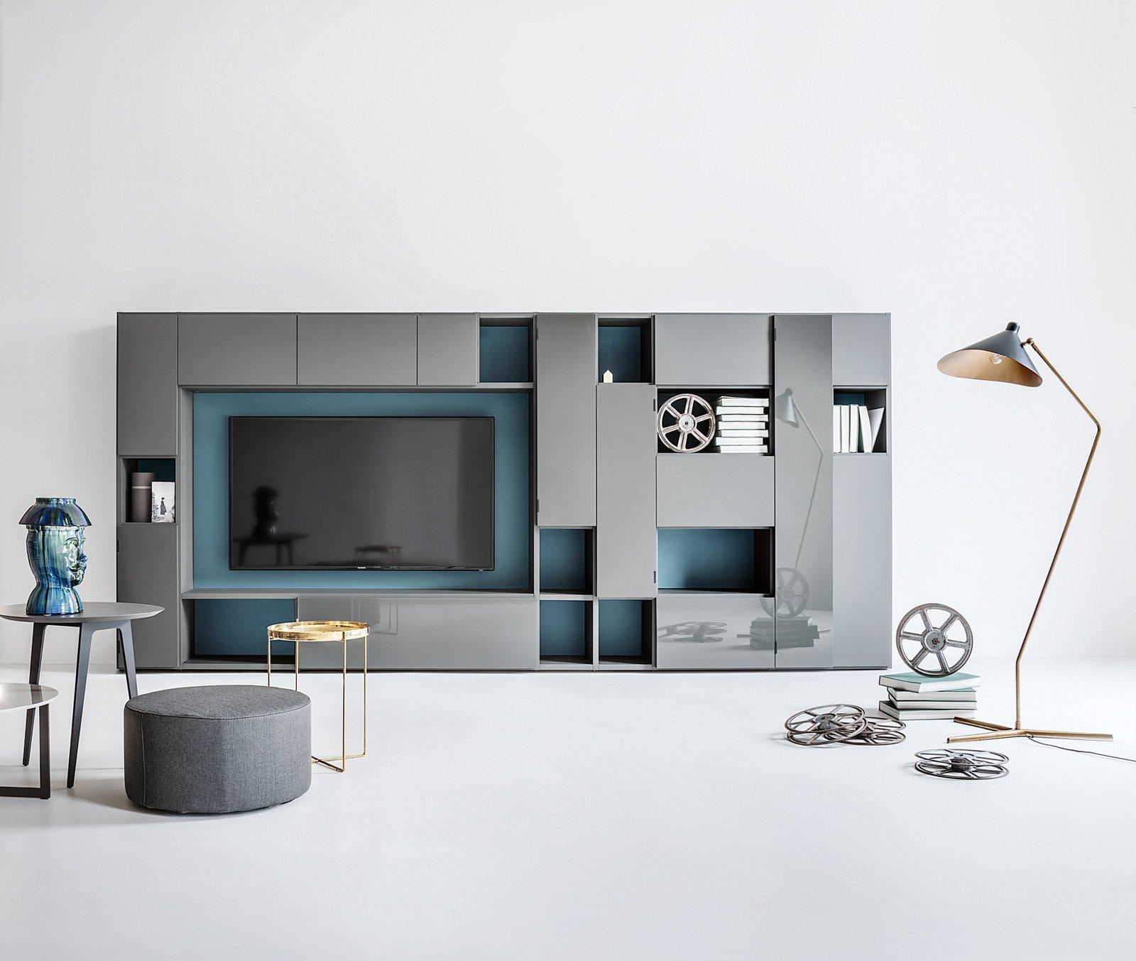 Librerie pareti attrezzate multifunzione cose di casa - Pareti attrezzate design ...