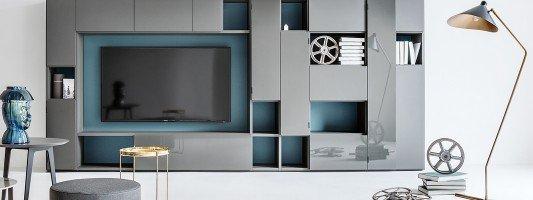 Soggiorno consigli e idee sull 39 arredamento cose di casa for Librerie pareti attrezzate
