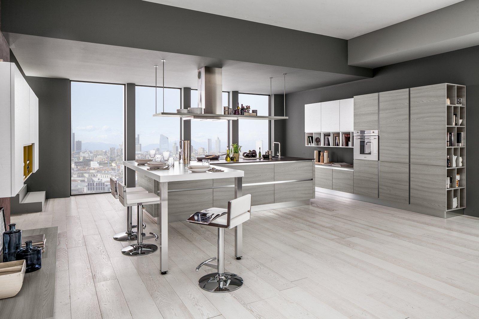 Cucine moderne con isola centrale cucina moderna orange - Cucine con isola centrale moderne ...