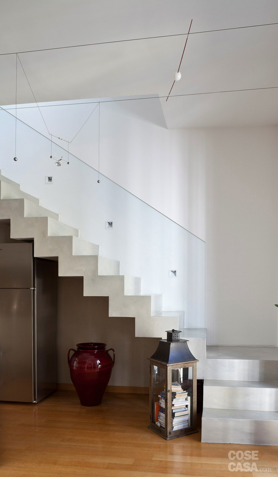 Una casa da copiare 10 idee tra spunti d 39 arredo e decor - Arredare scale interne ...