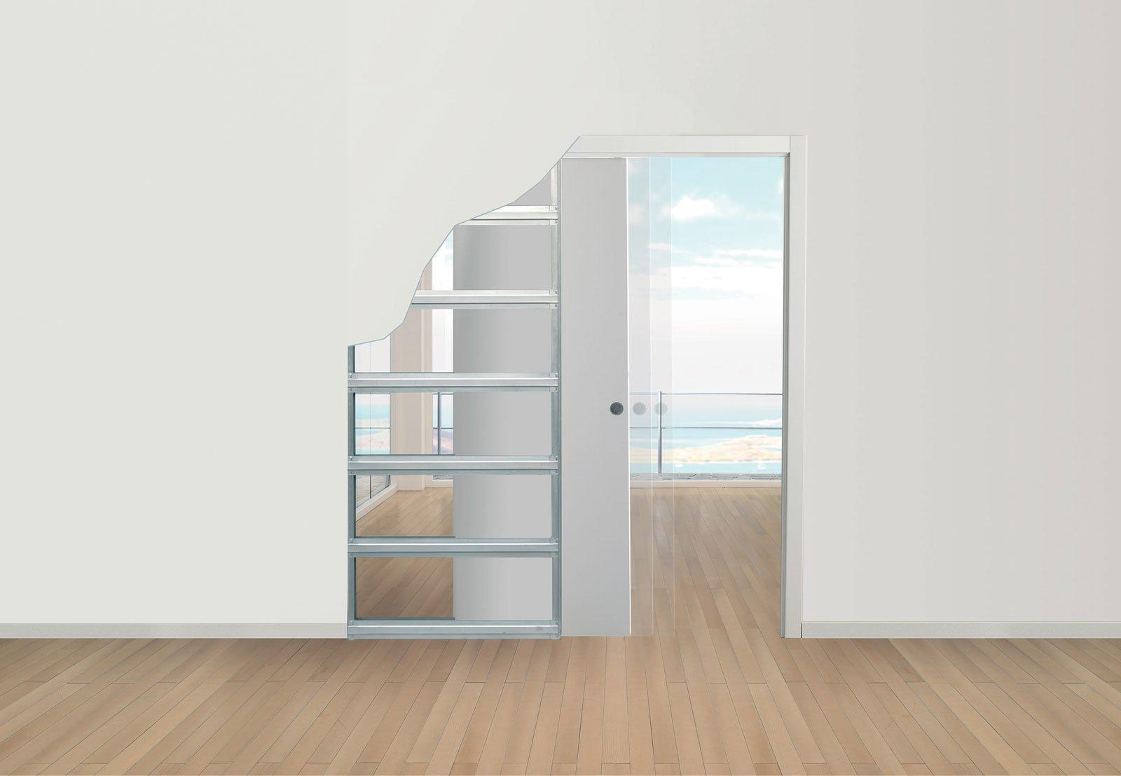 Sfruttare lo spazio con le porte a scomparsa cose di casa - Porta parete cartongesso ...