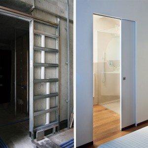 Sfruttare lo spazio con le porte a scomparsa - Cose di Casa