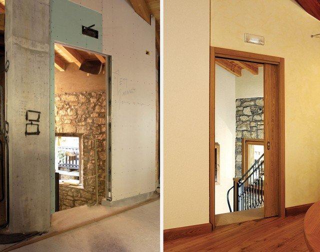 Sfruttare lo spazio con le porte a scomparsa cose di casa - Porte invisibili scorrevoli ...
