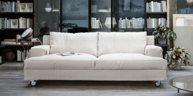 Divani piccoli, a due o tre posti: design per il relax