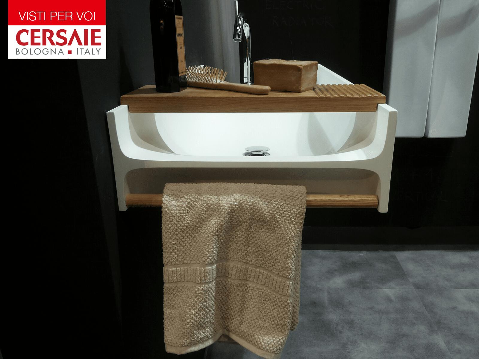 Cersaie 2015: materiali e forme per il bagno - Cose di Casa