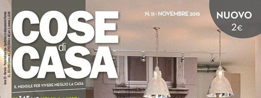 In edicola dal 23 ottobre Cose di Casa di novembre