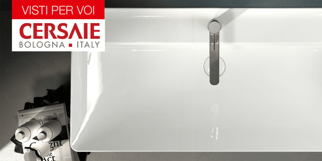 Cersaie 2015: materiali e forme per il bagno