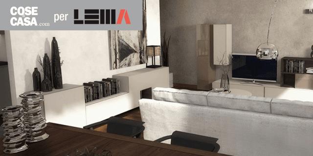 arredare il soggiorno: un progetto in 3d - cose di casa - Soggiorno Living Progetto