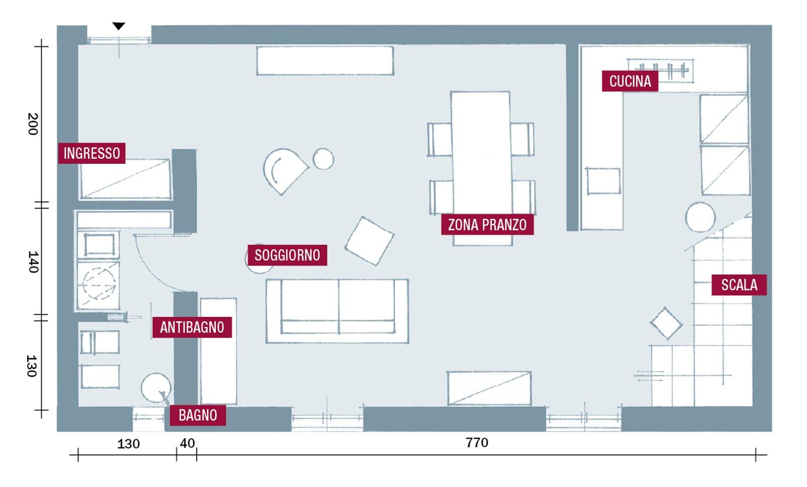 Dimensioni Porta Ingresso Casa una casa da copiare: 10 idee tra spunti d'arredo e decor