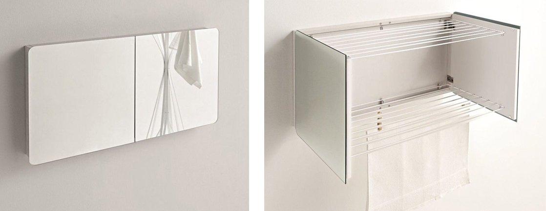 Per bagno o lavanderia soluzioni per stendere in casa for Parete vasca ikea