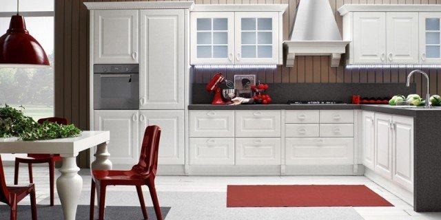 Cucine con piani in contrasto cose di casa - Arrex cucine classiche ...