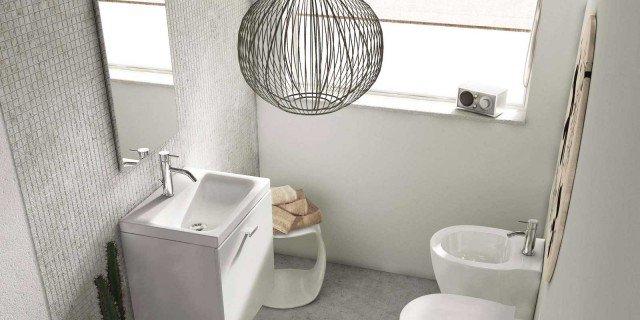 Mobili lavabo piccoli. Per risparmiare centimetri preziosi