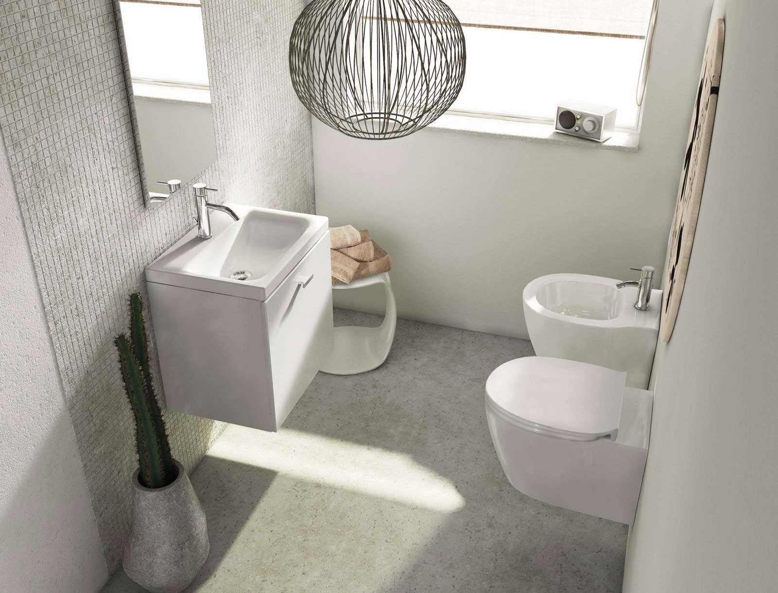 Mobili lavabo piccoli per risparmiare centimetri preziosi for Moderni minuscoli kit di case
