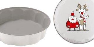 In cucina oggetti e utensili a tema natalizio