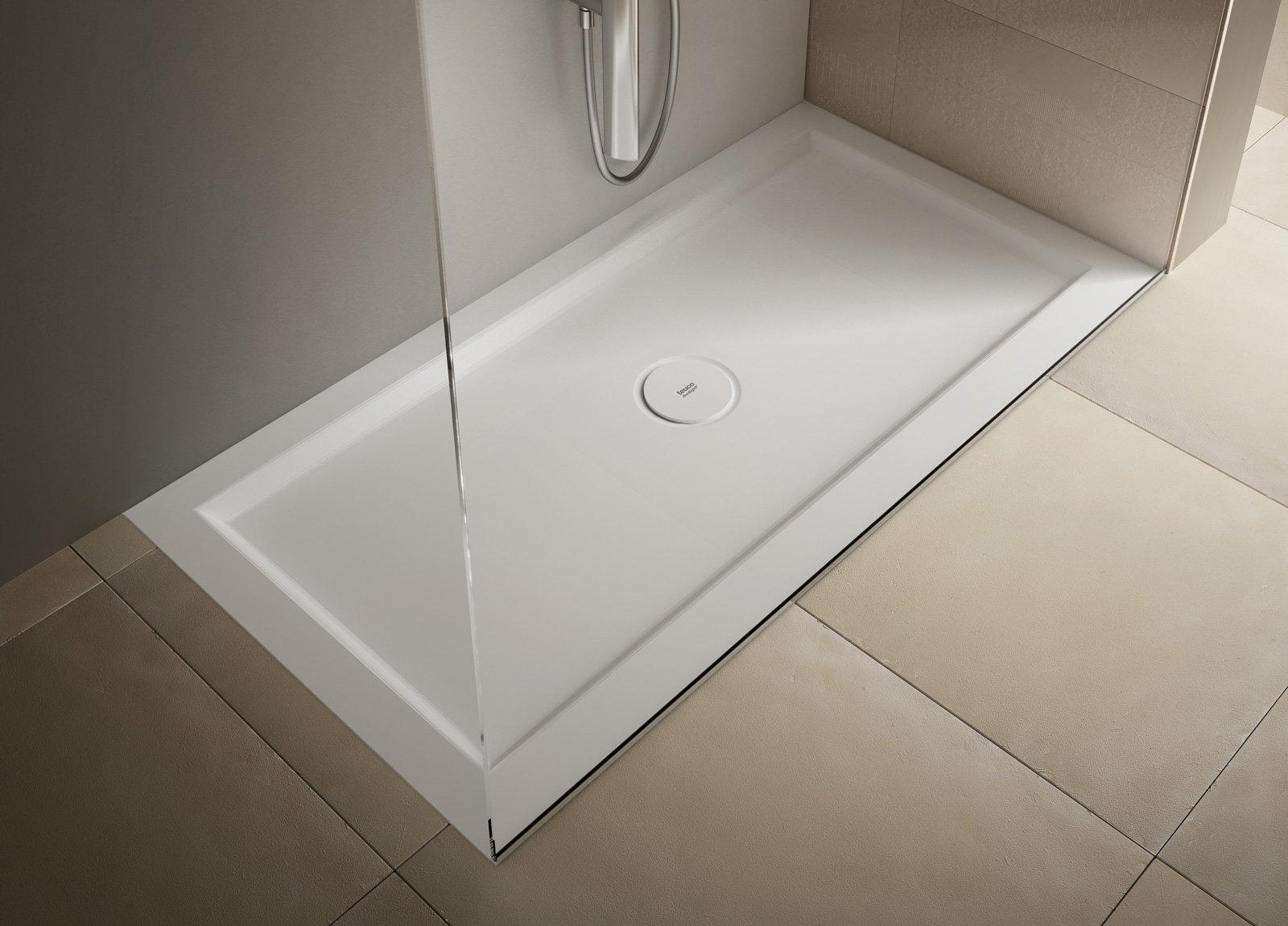 Vasca Da Bagno Teuco Paper Prezzi : Piatti doccia a filo per un bagno trendy cose di casa