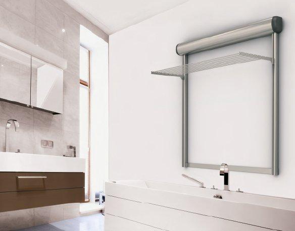 Per bagno o lavanderia soluzioni per stendere in casa piastrelle