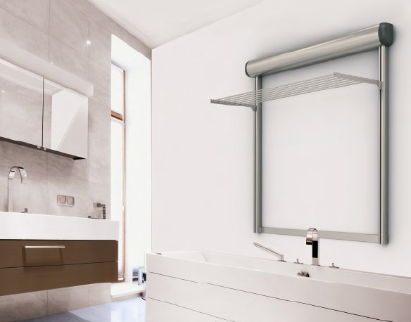Per bagno o lavanderia soluzioni per stendere in casa cose di casa - Stendino da vasca da bagno ...