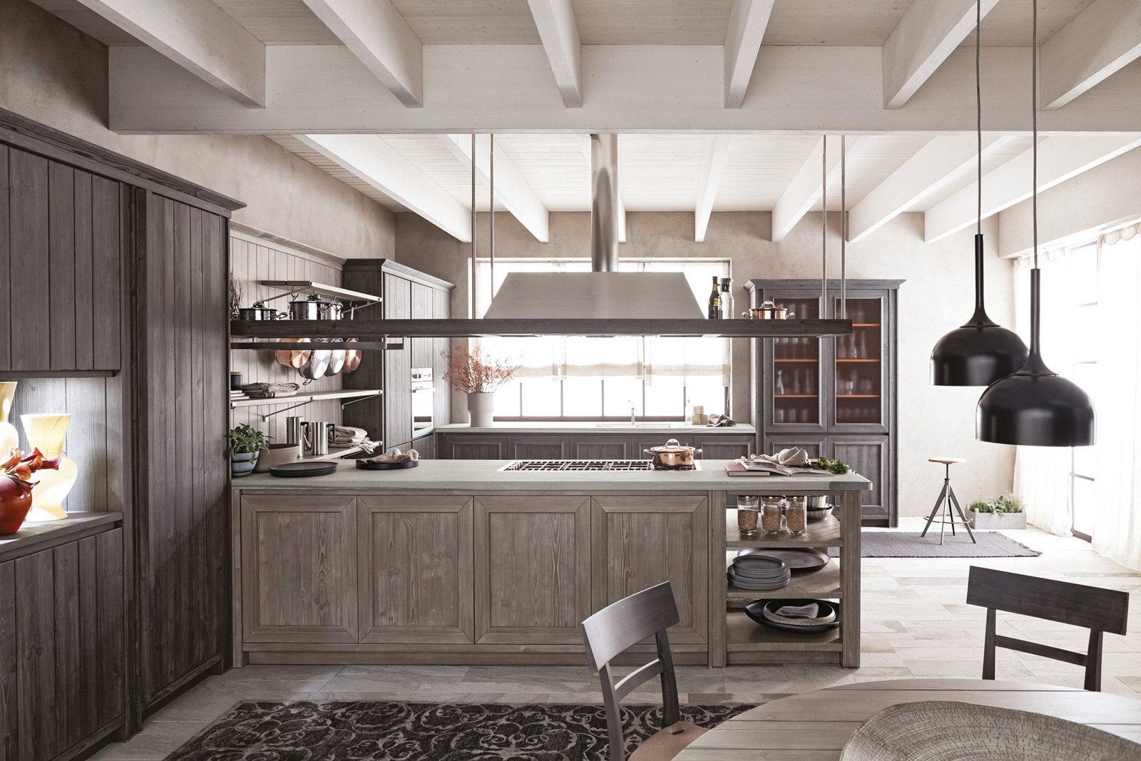 Cucine con penisola grande per separare contenere pranzare cose di casa - Cucine a penisola ...