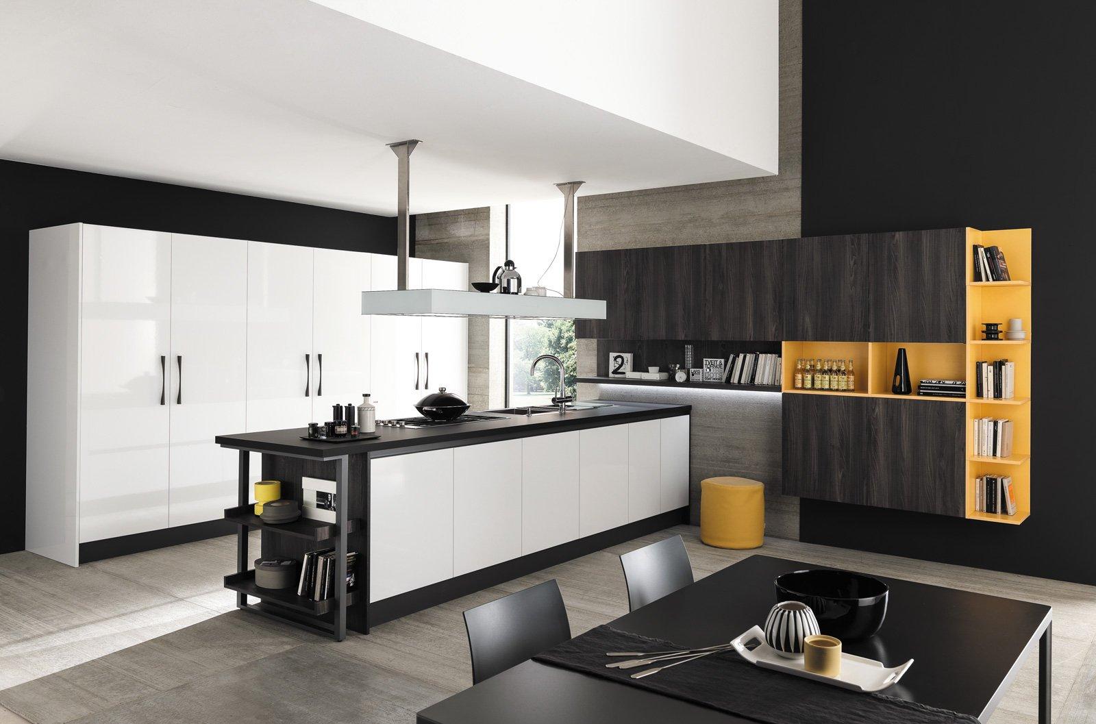 Cucine con piani in contrasto cose di casa - Cucine febal immagini ...