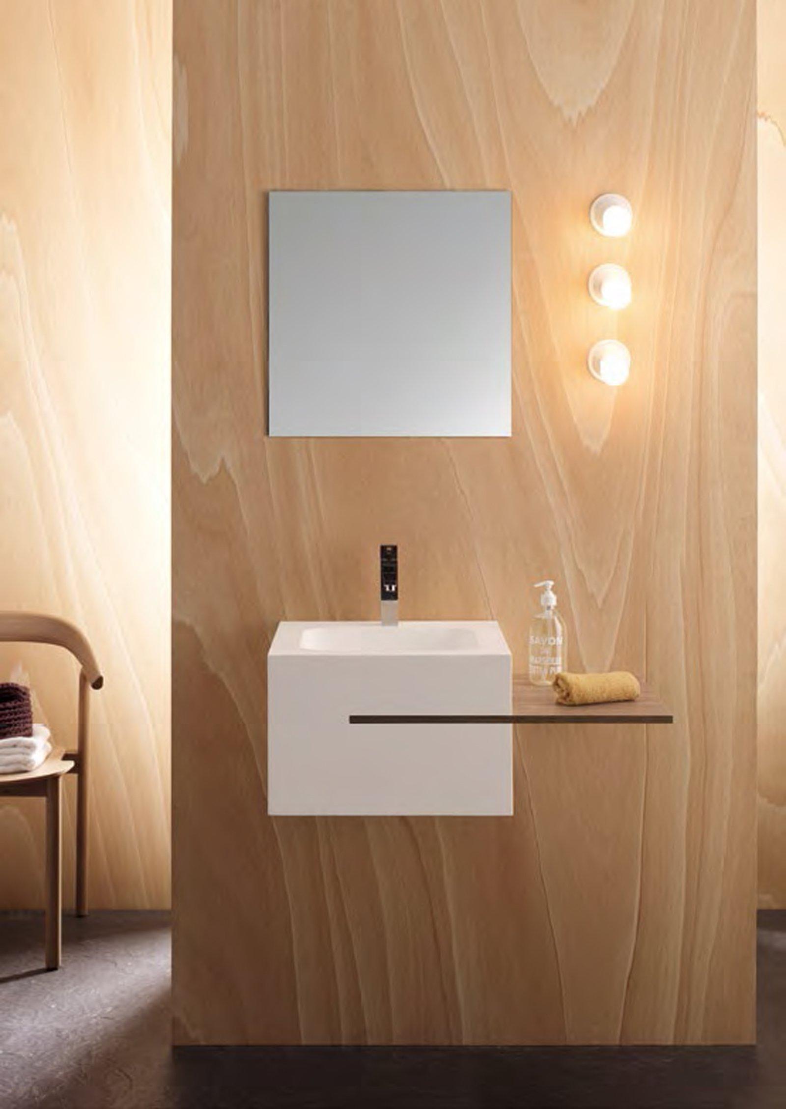 Mobili lavabo piccoli per risparmiare centimetri preziosi cose di casa - Mobili bagno piccoli ...