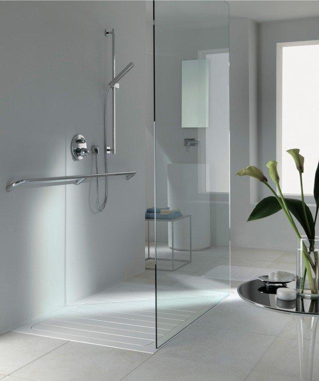 Piatti doccia a filo per un bagno trendy cose di casa - Piatto doccia marmogres ...