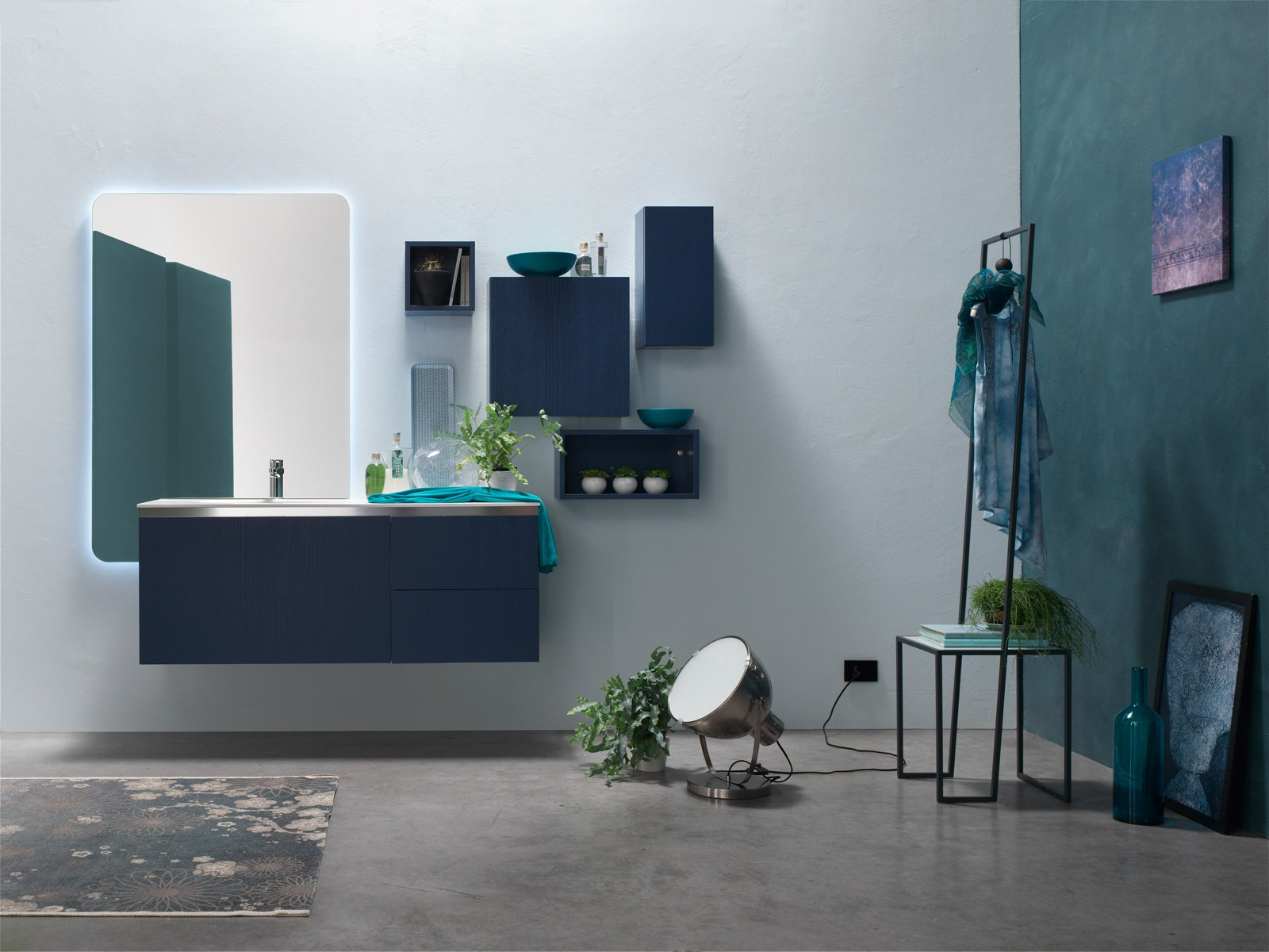 Arcom arreda il bagno con i colori della nuova linea ak for Arreda il bagno