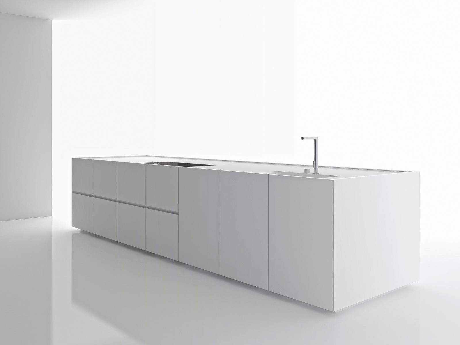 Solid Surface: materiale high tech per la cucina - Cose di Casa