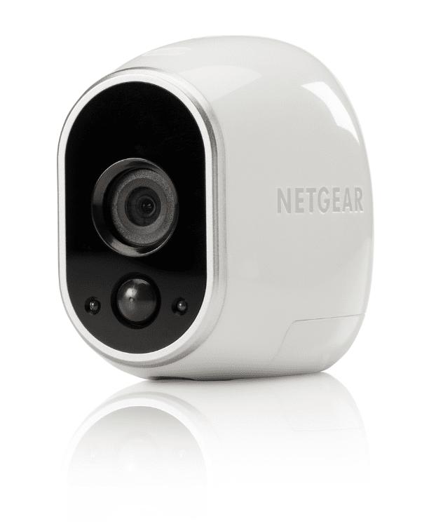 La nuova videocamera NETGEAR Arlo è completamente senza fili è può essere posizionata in modo discreto in qualsiasi angolo della casa. Questa innovativa videocamera, alimentata da batterie al litio, offre una straordinaria risoluzione HD, sensori di movimento, visione notturna, un campo visivo di 130° e un design impermeabile, che permette di collocarla anche all'esterno. Inoltre, grazie all'app dedicata, disponibile per iOS e Android, è possibile monitorare in tempo reale dai dispositivi mobili cosa succede a casa, ovunque ci si trovi e in qualsiasi momento. Prezzo a partire da 270 euro. www.arlo.com/it.