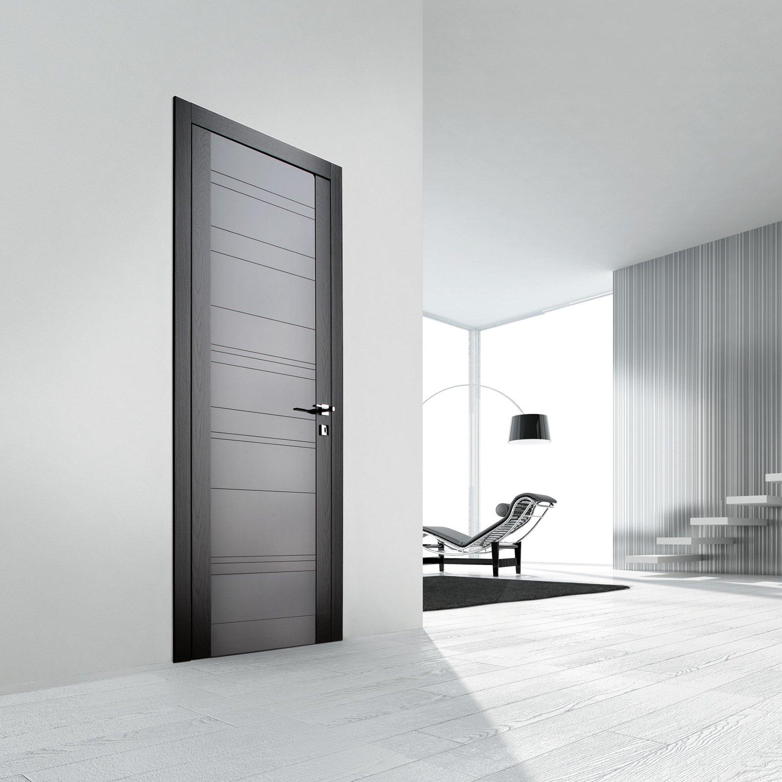 Porte a battente: tinta legno, laccata o decor? - Cose di Casa